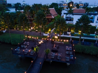 The Siam. Aerial - Deck & Pier 2